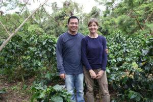 Leo et Rita Purba, producteurs du café Giv Huta Raja Natural.