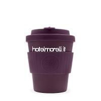 Ecoffee Cup Pourpre Foncé pour connaître l'Aude | 226 8 grammes 250 ml | tasse à café en bambou réutilisable B079Z5RJBG