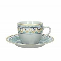Tognana Olimpia Alhambra Pack 6 Tasses En Porcelaine Bleue B0105UB6CK