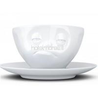 CINQUANTE PRODUITS Cinquante-huit t014501 Tasse à café en porcelaine blanche 2 unités 12x 10x 10cm B01LLO1JYY