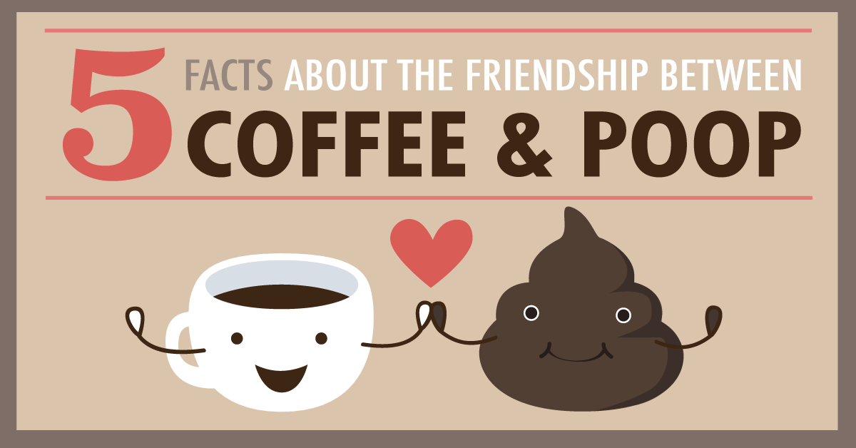 5 faits sur l'amitié entre le café et le caca