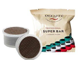 Capsule FAP O'ccaffe Super Bar à prix réduit | barman de qualité d'une entreprise italienne | compatible avec Lavazza Espresso Point