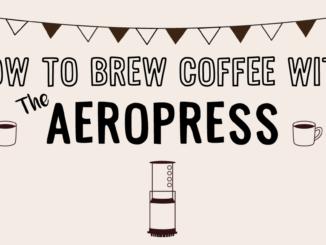 Comment préparer du café avec l'AeroPress