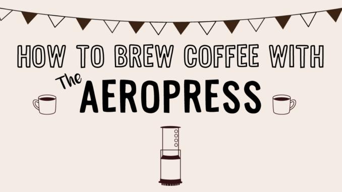 <pre>Comment préparer du café avec l'AeroPress