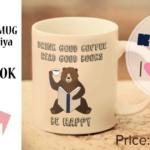 J'ai fait une tasse de café avec la librairie Kinokuniya!