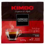 Kimbo – Café Napolitain Espresso – 5 morceaux de 500 g [2500 g]