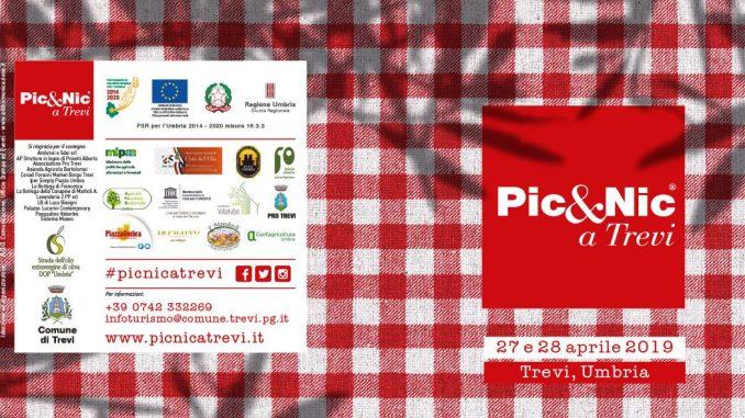 """<pre><pre>La 12ème édition de """"Pic & Nic a Trevi. Art, musique et collations parmi les oliviers avec de nombreuses initiatives prévues"""