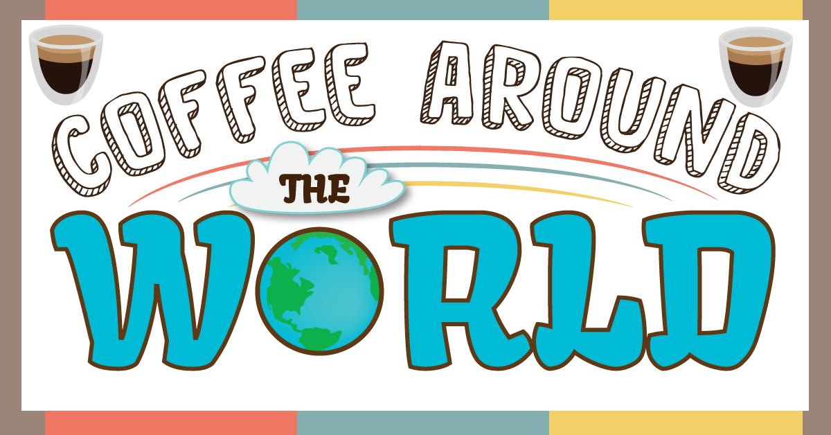 Le café dans le monde - J'aime le café