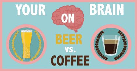 <pre>Votre cerveau sur la bière et le café