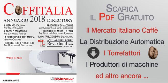 Téléchargement gratuit de l'ebook yearbook Coffitalalia avec tous les opérateurs du secteur café italien