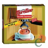 MORETTINO ESPRESSO CAFÉ GR 250X2