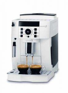 Machine à espresso super automatique De & Longhi ECAM21.110.W Magnifica S