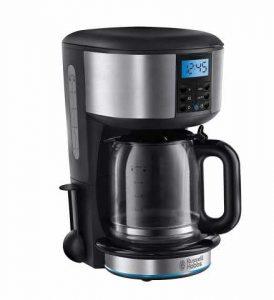 Machine à café Russell Hobbs Buckingham 20680-56, 1000 watts, acier inoxydable, noir