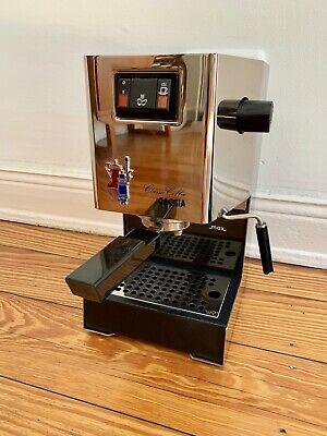 Gaggia Classic Edelstahl Espressomaschine