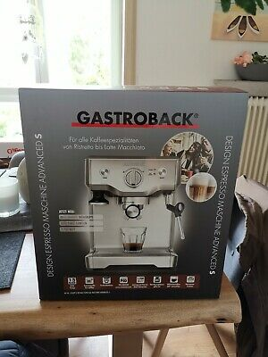 GASTROBACK 42609 Advanced S Design Espressomaschine Edelstahl