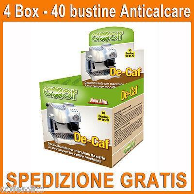 Machines à café anticalcaire - 40 sachets