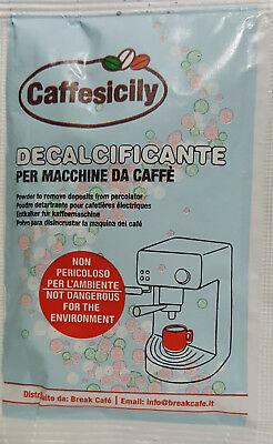 """Décalcifiant pour machine à café universelle """"Caffesicily"""" de 25 gr."""