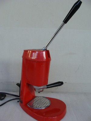 Machine à café expresso Old Coffee de Zerowatt fabriquée en Italie