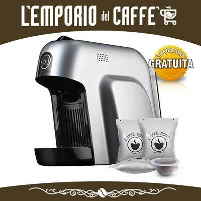 Machine à café Bialetti Smart Premium Silver + 50 capsules gratuites et compatibles