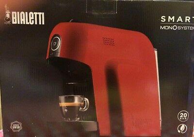 Machine à café à capsules Bialetti Smart Rossa CF65 Espresso Nouveau