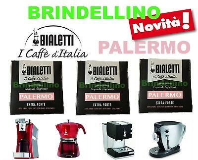 128 capsules Caffe Palermo Bialetti Mokona Mokissima Tazzissima Diva Cœur Intelligent