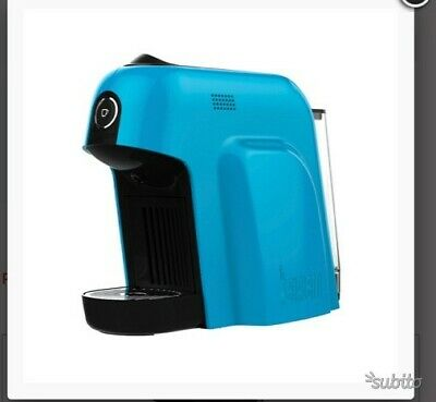 Cadeau de fabricant de gaufres rotatif bleu clair Bialetti Smart Espresso Coffee Machine