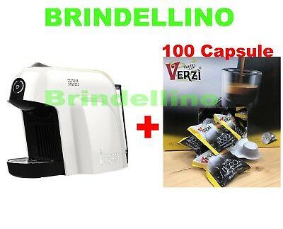 Machine à café Bialetti Smart Cf65 Mokespresso + 100 capsules de café vert intense