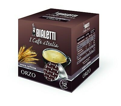 120 capsules BIALETTI ORLEY - CAFFE D'ITALIE - TASTE D'ORGE