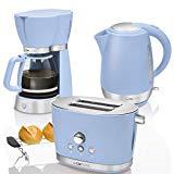 machine à café à piston ram rétro Clatronic KA 3689 - Machine d'égouttage pour 15 tasses de café, système anti-gouttes et plaque de maintien de la chaleur avec port 1000 W