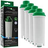 Manuel italien 4 x FilterLogic CFL-950B - cartouche filtrante / filtre à eau pour machines à café De'Longhi / DeLonghi - remplace DLS C002 / DLSC002 / SER3017 / 5513292811 pour les modèles ECAM ESAM ETAM EC680 BCO