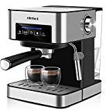 Machine à café expresso de 15 bars avec indicateur à DEL Boutons tactiles à une tasse ...