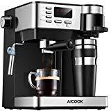Machine à café multifonctions: machine à expresso automatique en trois dimensions, machine à café américaine, café cappuccino et café au lait. Économisez de l'espace sur les comptoirs ou les étagères, sans avoir besoin d'une machine à café et à expresso séparée