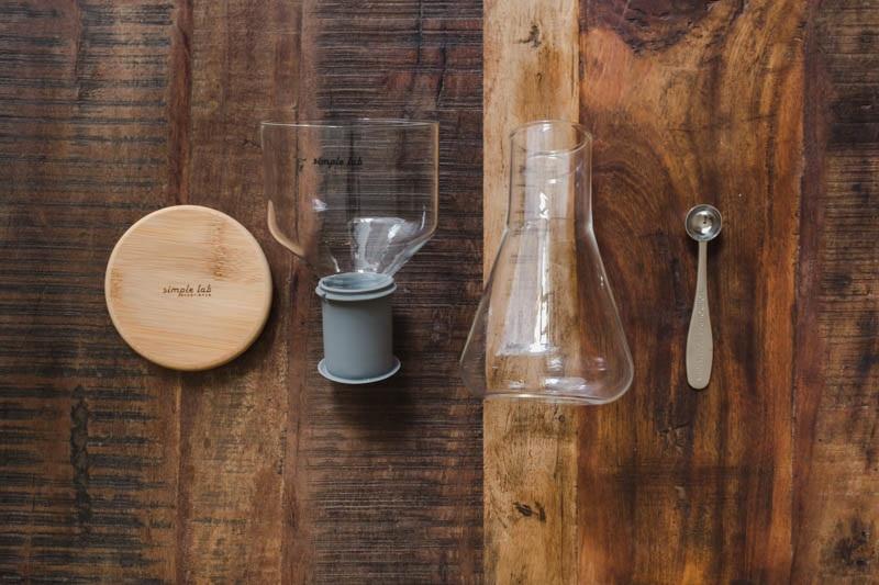 Outils d'extraction à froid et à froid pour le café et le thé