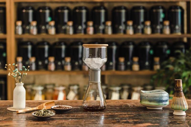 Brew froid de café et de thé et autres boissons personnalisées