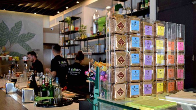<pre><pre>Il Posto di Altogusto à Sassari, une source d'idées avec les cafés de Milani