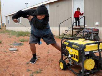 Non è più al buio: Nazione Navajo, case per ottenere energia elettrica Notizia