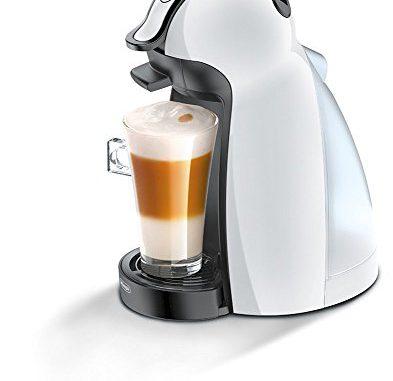 <pre><pre>Nescafé Dolce Gusto De'Longhi Piccolo EDG100.W Machine à café espresso et autres boissons, blanc