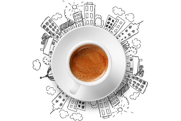 histoire de la tasse à café