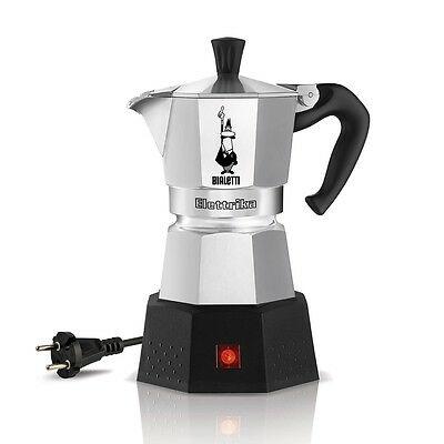 Cafetière Bialetti moka elettrika 2 tasses de café expresso café électrique Rotex