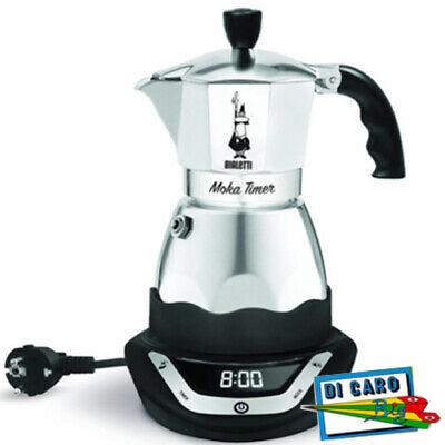 Bialetti 0006092: Minuterie facile Moka, 3 tasses, cafetière électrique à espresso