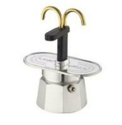 Cafetière Bialetti 2 Tasses Mini Express Argent 0001284