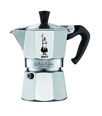BIALETTI MOKA EXPRESS Cafetière en aluminium 1 2 3 4 6 9 tasses à café