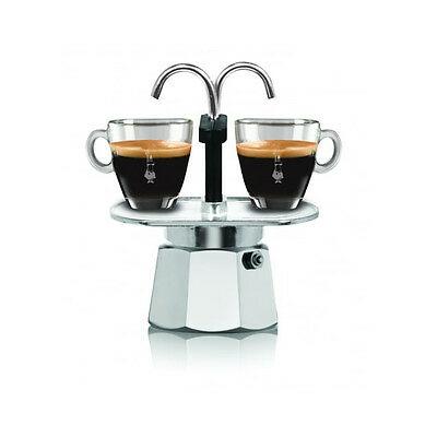 Bialetti Mini Express 2 tasses de cafetière Moka Cafetière Miniexpress 0001284