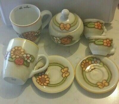 Service THUN pour 2 2 tasses à café 2 tasses Tasse Sugar Bowl NOUVEAU Country line