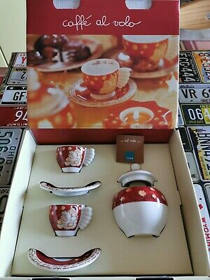 Thun 2 tasses à café à la volée avec un sucrier, édition limitée Noël 2007