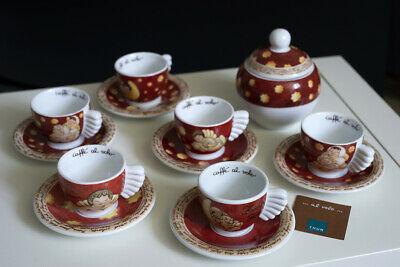 """THUN Tasses """"Café à la volée"""" Edition Limitée Noël 2002-2007"""