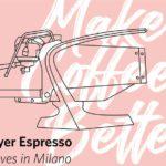 Slayer Espresso en Italie, avec Lot Zero, le Bergonzi et le Fensor