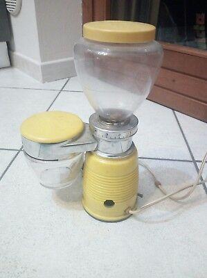 Moulin à café jaune de couleur jaune de moulin très rare