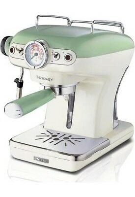 Machine à Café Espresso Ese Ariete, Vintage Dosettes Espresso Vertes 1389/14