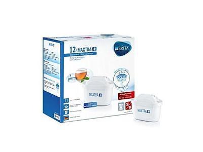 12 filtres pour cartouche de carafe à eau Maxtra Filter + Brita 12 mois 1025126
